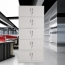 Split Five Steel Filing Cabinet Image 4