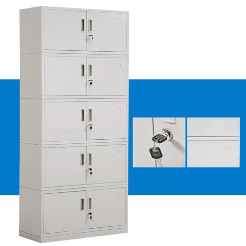 Split Five Steel Filing Cabinet Image 6