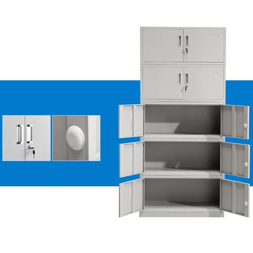 Split Five Steel Filing Cabinet Image 7