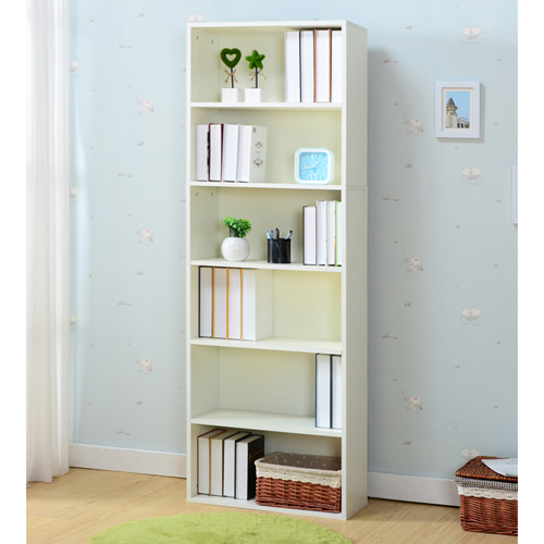 Modern Bookshelf Rack With Locker Cabinet Image 9
