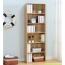 Modern Bookshelf Rack With Locker Cabinet Image 14