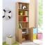 Modern Bookshelf Rack With Locker Cabinet Image 15