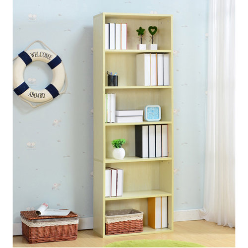 Modern Bookshelf Rack With Locker Cabinet Image 20
