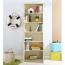 Modern Bookshelf Rack With Locker Cabinet Image 21