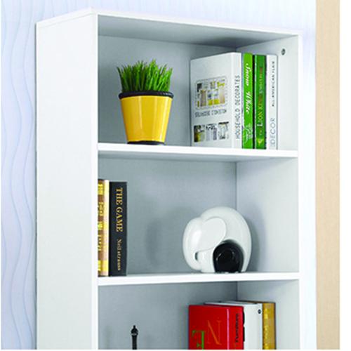 Modern Bookshelf Rack With Locker Cabinet Image 24