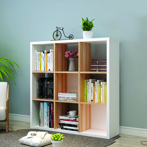 Multi-Lattice Square Grid Bookcase Image 10