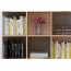 Multi-Lattice Square Grid Bookcase Image 11