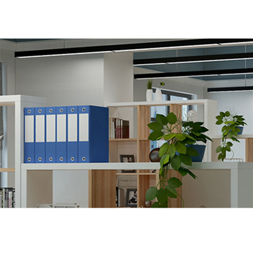 Multi-Lattice Square Grid Bookcase Image 12
