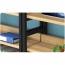 Wooden Storage Side Steel Bookshelf Image 13
