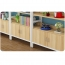 Wooden Storage Side Steel Bookshelf Image 16