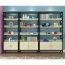 Wooden Storage Side Steel Bookshelf Image 8
