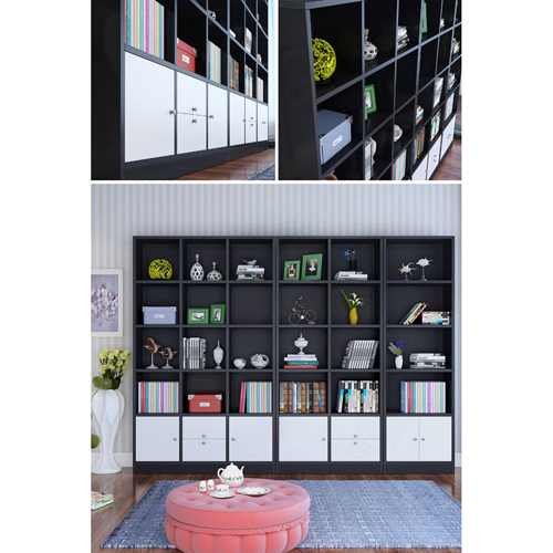 Dozze Study Shelves With Drawer Image 12