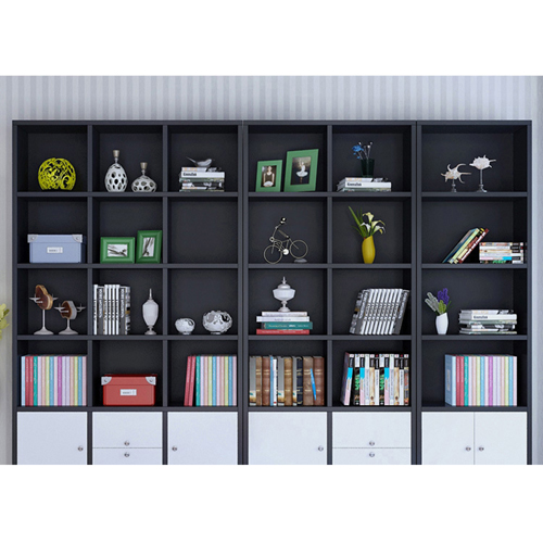 Dozze Study Shelves With Drawer Image 14