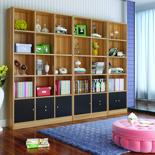 Dozze Study Shelves With Drawer