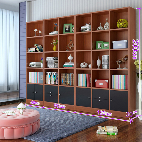Dozze Study Shelves With Drawer Image 21