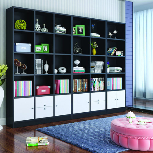 Dozze Study Shelves With Drawer Image 3