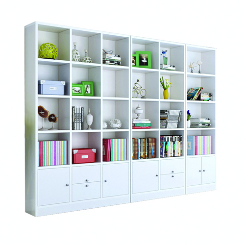 Dozze Study Shelves With Drawer Image 4