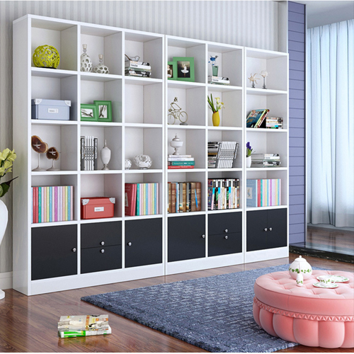 Dozze Study Shelves With Drawer Image 5
