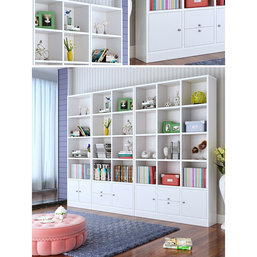 Dozze Study Shelves With Drawer Image 7