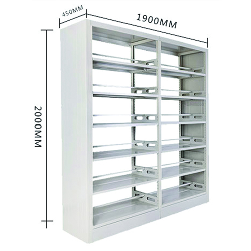Elava Metal Bookshelf Racks Image 9