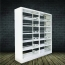 Elava Metal Bookshelf Racks Image 2