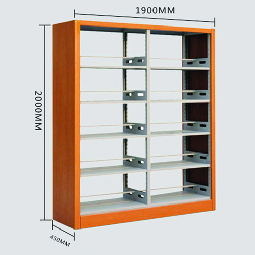 Aclima Double Sided Steel Bookshelves Image 13