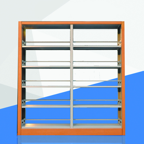 Aclima Double Sided Steel Bookshelves Image 2
