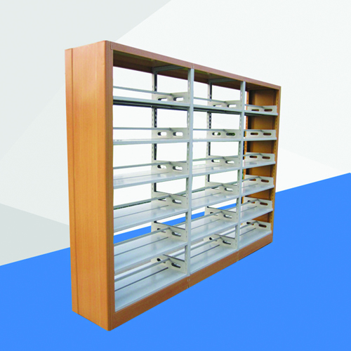 Aclima Double Sided Steel Bookshelves Image 3