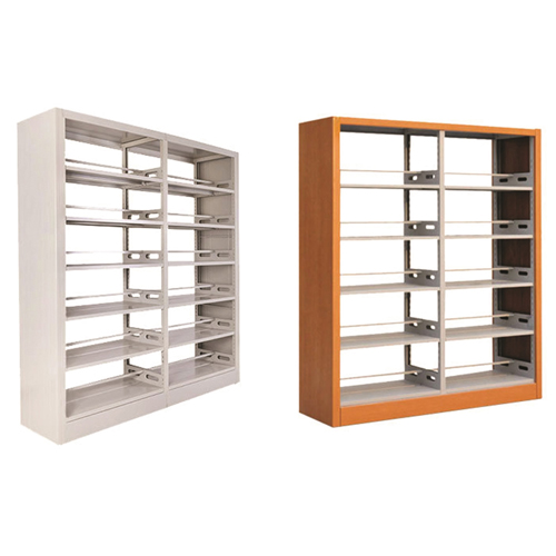 Aclima Double Sided Steel Bookshelves Image 4