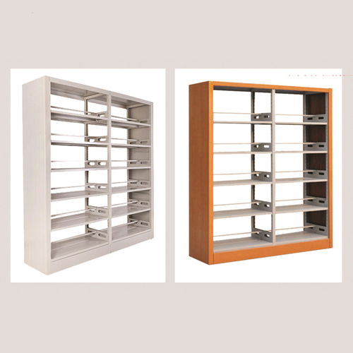 Aclima Double Sided Steel Bookshelves Image 8