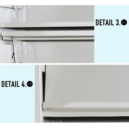 Filing Metal Magazine Rack Cabinet Image 11