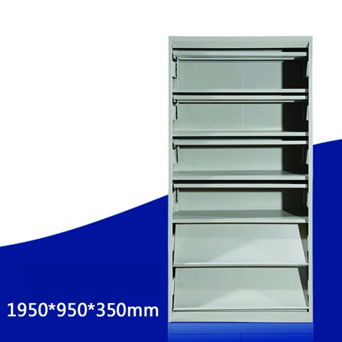 Filing Metal Magazine Rack Cabinet