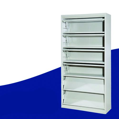 Filing Metal Magazine Rack Cabinet Image 2