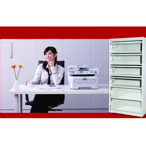 Filing Metal Magazine Rack Cabinet Image 5