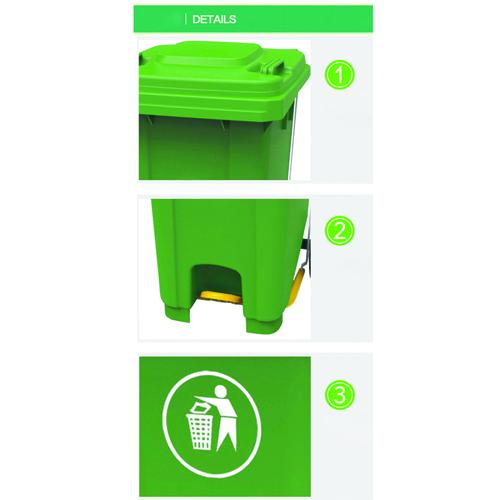 Boink 2 Wheel Pedal Bin Image 6