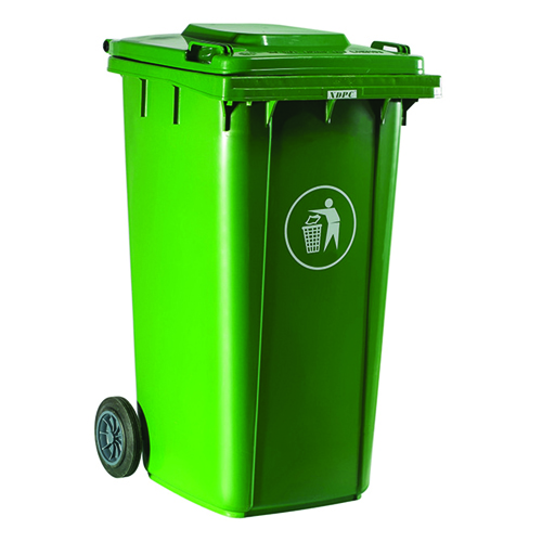 Chew Wheels Dustbin With Lid Image 1