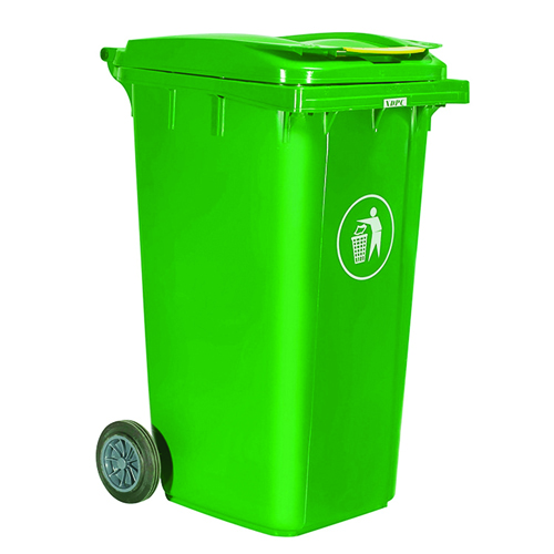 Chew Wheels Dustbin With Lid