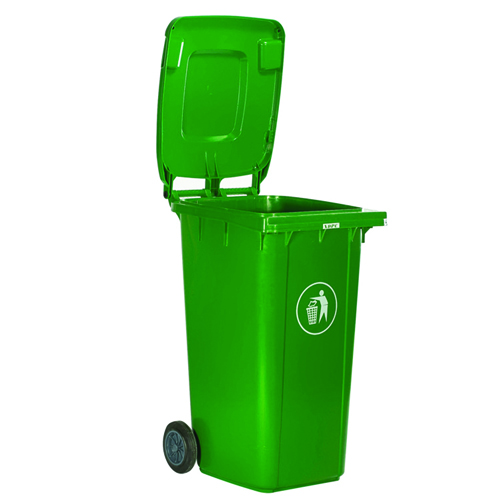 Chew Wheels Dustbin With Lid Image 3