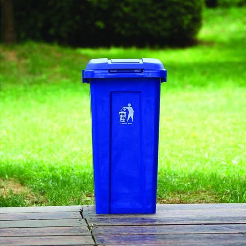 Ensemble 50L Trash Bin With Lid Image 7