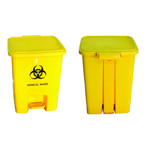 Rectangular Step-On Medical Trash With Lid Image 5