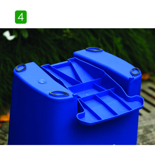 Wheeze Foot Pedal Garbage Bin Image 11
