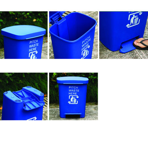 Wheeze Foot Pedal Garbage Bin Image 14