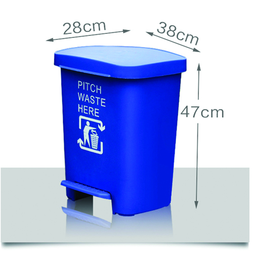 Wheeze Foot Pedal Garbage Bin Image 15