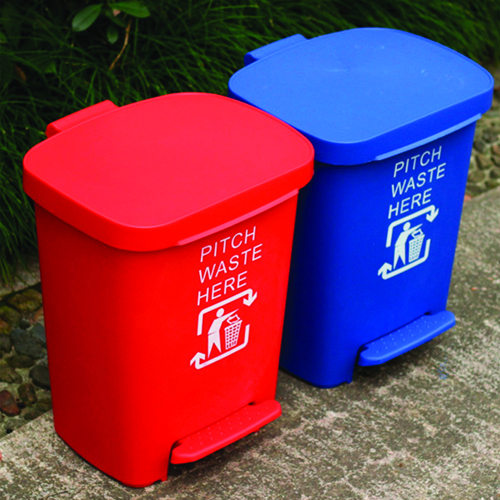 Wheeze Foot Pedal Garbage Bin Image 7
