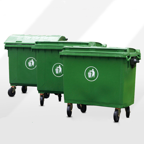 Lama Four Wheels Garbage Container Image 1