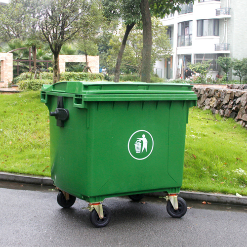 Lama Four Wheels Garbage Container Image 3