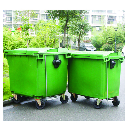 Lama Four Wheels Garbage Container Image 6