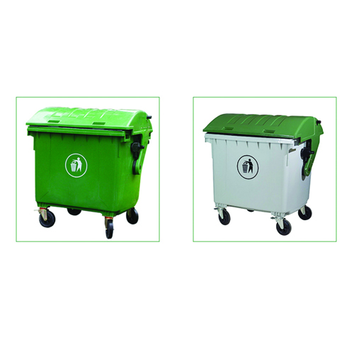 Lama Four Wheels Garbage Container Image 9