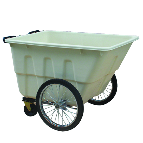 Outdoor Four Wheel Garbage Cart Image 9