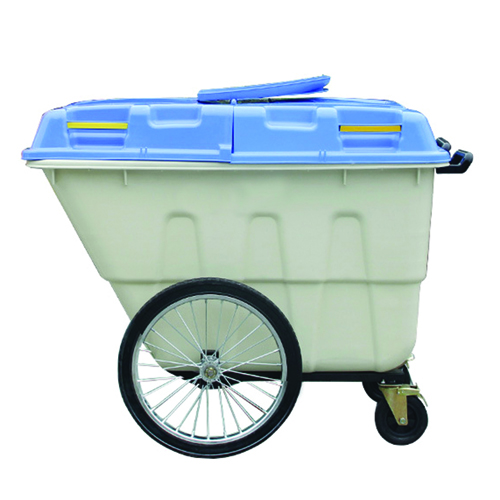 Outdoor Four Wheel Garbage Cart Image 10